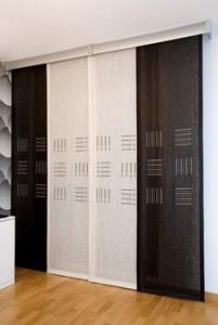 Panel Japones Blanco Negro
