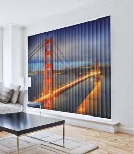 Cortinas verticales San Francisco