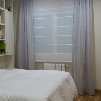 Estores Varillas Blancos Dormitorio